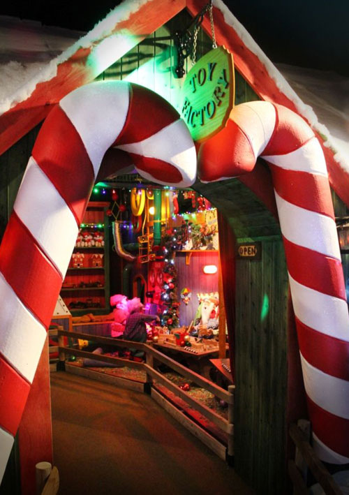 Christmas Wonderland At Paultons Park