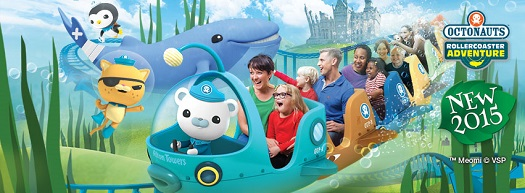 Octonauts Rollercoaster Adventure at Alton Towers