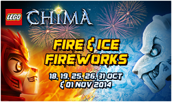 LEGO Legends of Chima Fire & Ice Fireworks
