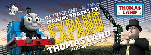 Thomas Land Expansion at Drayton Manor