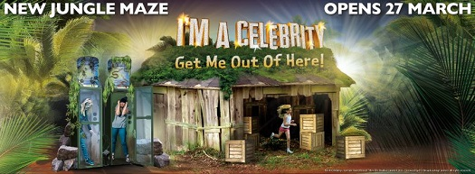 I'm A Celebrity...Get Me Out Of Here! Maze at Thorpe Park