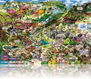 Alton Towers Park Map