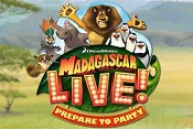 New for 2012: Madagascar Live! Prepare to Party