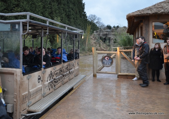 Zufari - Ride into Africa at Chessington World of Adventures