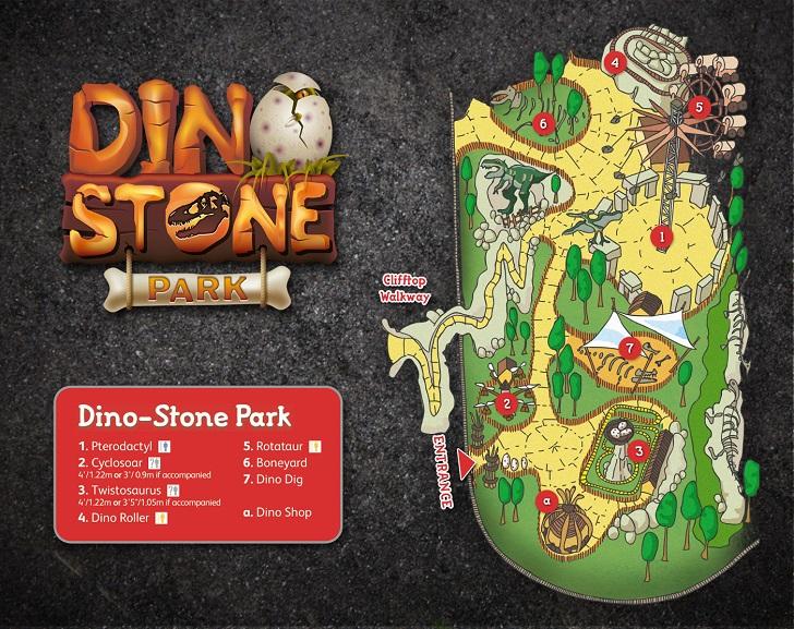 Dino-Stone Park Map