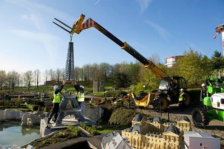 Paris in Miniland at Legoland Windsor