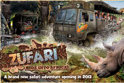 Zufari - Ride into Africa! at Chessington